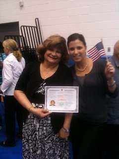 Naturalization Ceremony in Austin, Texas